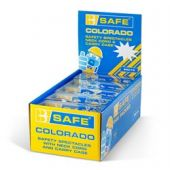 B-Safe Pre Packed Colorado Safety Glasses With Neck Cord