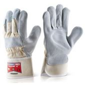 B-Flex Canadian Red High Quality Rigger Gloves