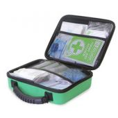 Click Medical BS8599-1 Small Workplace First Aid Kit in Medium Feva Bag