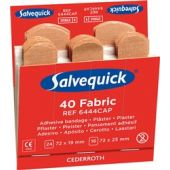 Click Medical Salvequick Fabric Plasters Refill Pack 6 X 40