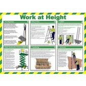 Click Medical Work at Height Poster A716