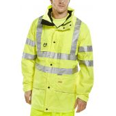 B-Seen Carnoustie Hi Vis Waterproof Jacket