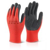 B-Click 2000 MP4 Multipurpose Latex Coated Polyester Gloves Black