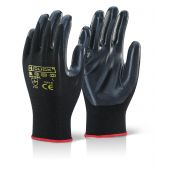 B-Click 2000 Nite Star Nitrile Dipped Gloves