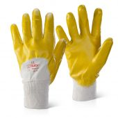 B-Click 2000 Knitwrist Nitrile Lightweight Palm Coated Gloves