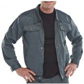 B-Super Click Workwear Drivers Jacket Spruce 40in