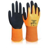 Wonder Grip Comfort WG-310H Hi Vis Latex Coated Gloves