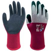 Wonder Grip Dual WG-355 Latex Coated Red/Grey Gloves