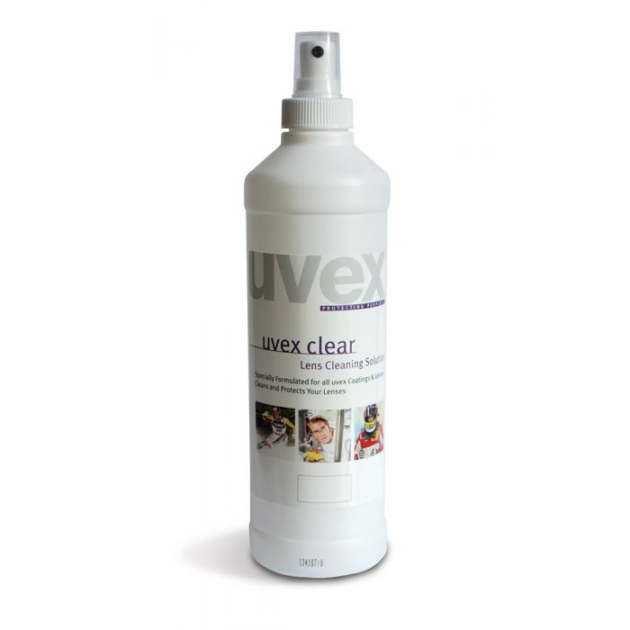 uvex Clear Lens Cleaning Solution 16floz