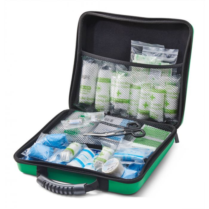 Click Medical BS8599-1 Medium Workplace First Aid Kit in Large Feva Bag