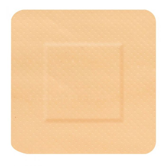 Click Medical Waterproof Square Plasters 38x38mm Pack of 100