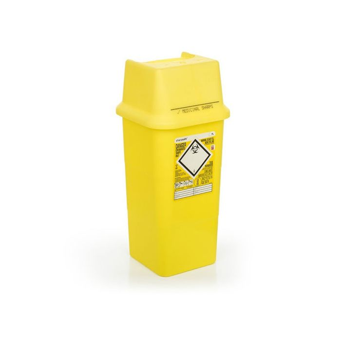 Click Medical Sharps Bin 7ltr