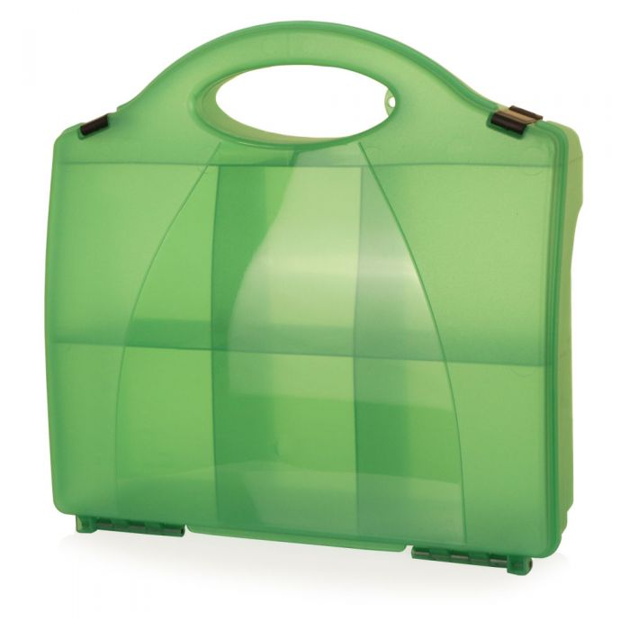 Click Medical Small Green 860 Eclipse Box without Partitions