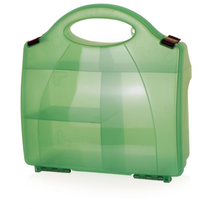 Click Medical 851 Green Eclipse Box with Partitons