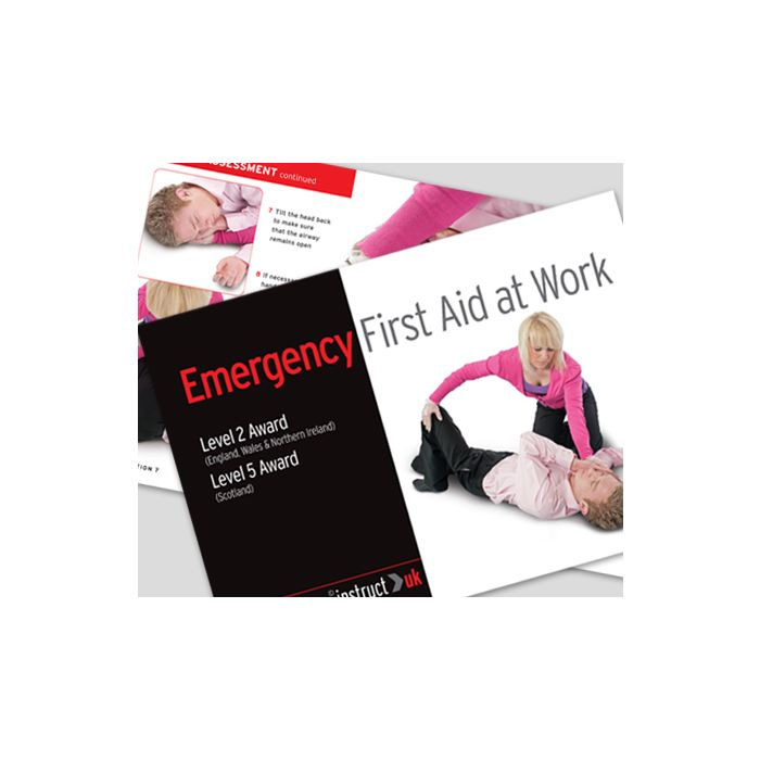 Click Medical Emergency First Aid at Work Book