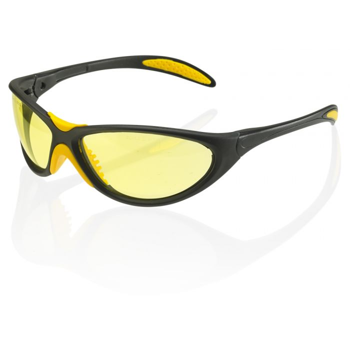 B-Brand Mohave Safety Spectacles - Yellow 2C - 1.2 1FT CE