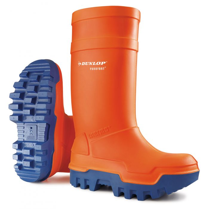 Dunlop Purofort Thermo+ C662343 Full Safety Wellingtons Orange