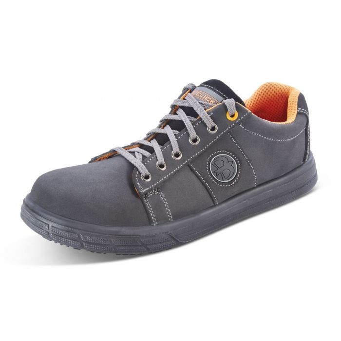 B-Click CF18 Safety Sneaker Trainer Shoes Black