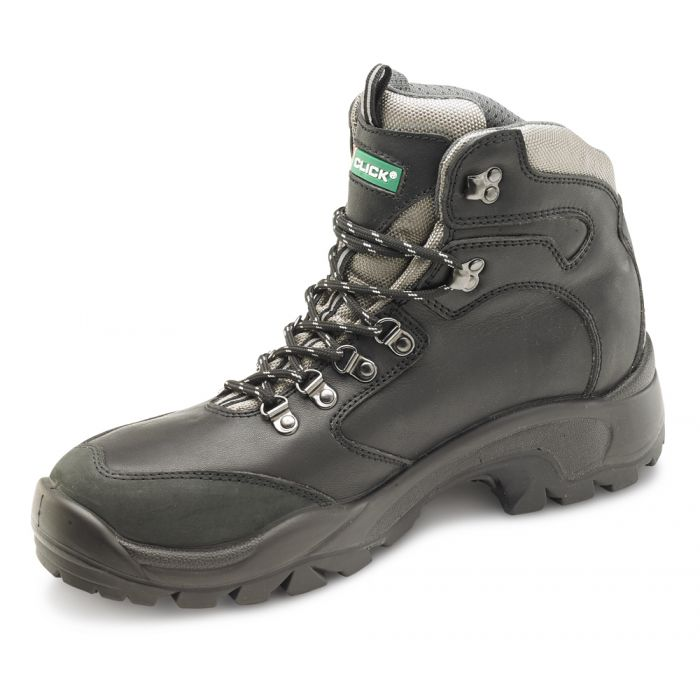 B-Click Footwear B-Click PU/Rubber S3 Safety Boots Black