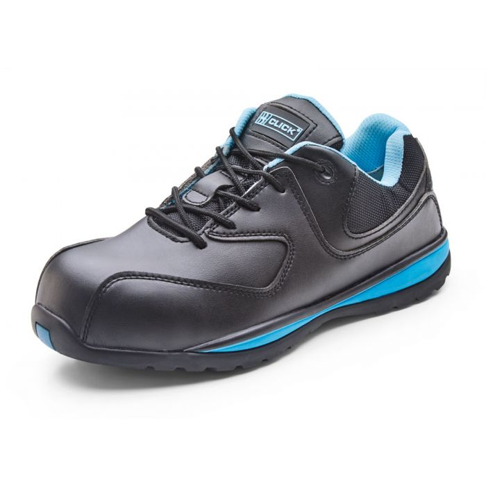B-Click Footwear Ladies Microfibre Safety Trainers