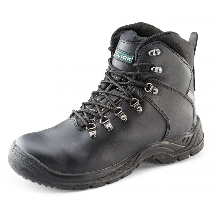B-Click Footwear Black Metatarsal Safety Boots