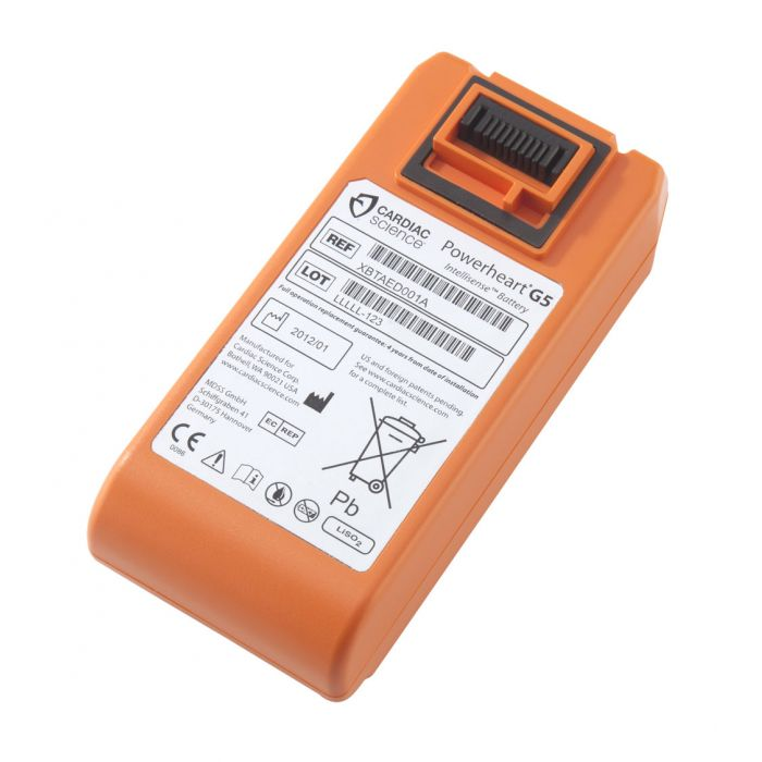 Cardiac Science G5 Replacement Lithium Battery with 4 Year Warranty
