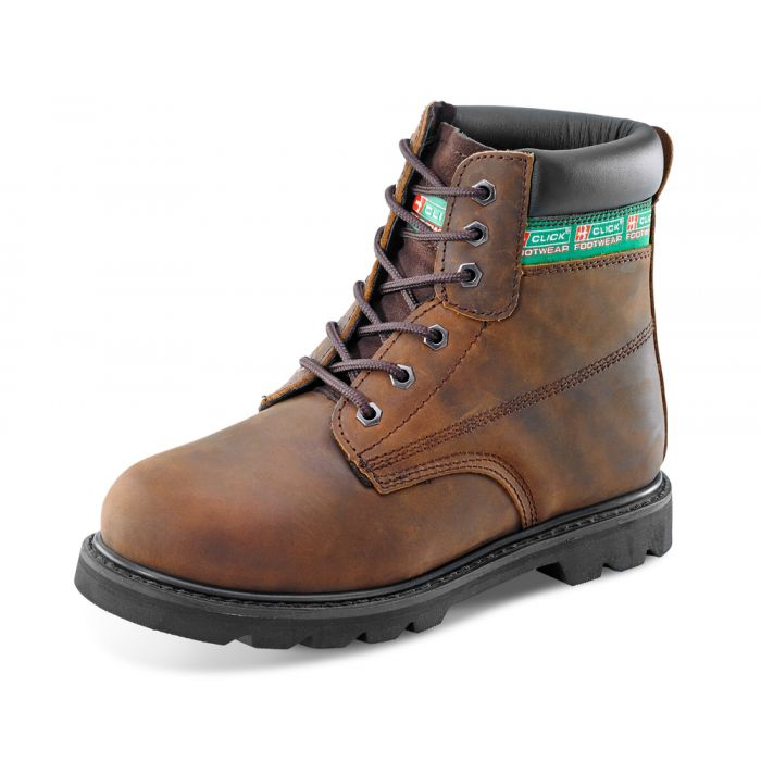 B-Click Footwear Goodyear Welted SB 6 Inch Safety Boots