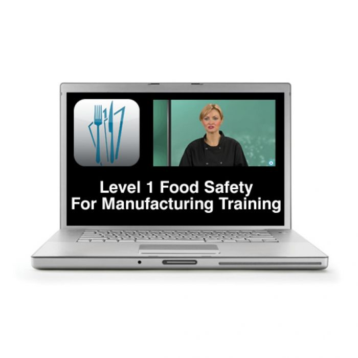 Level 1 Food Safety for Manufacturing Online Training Course