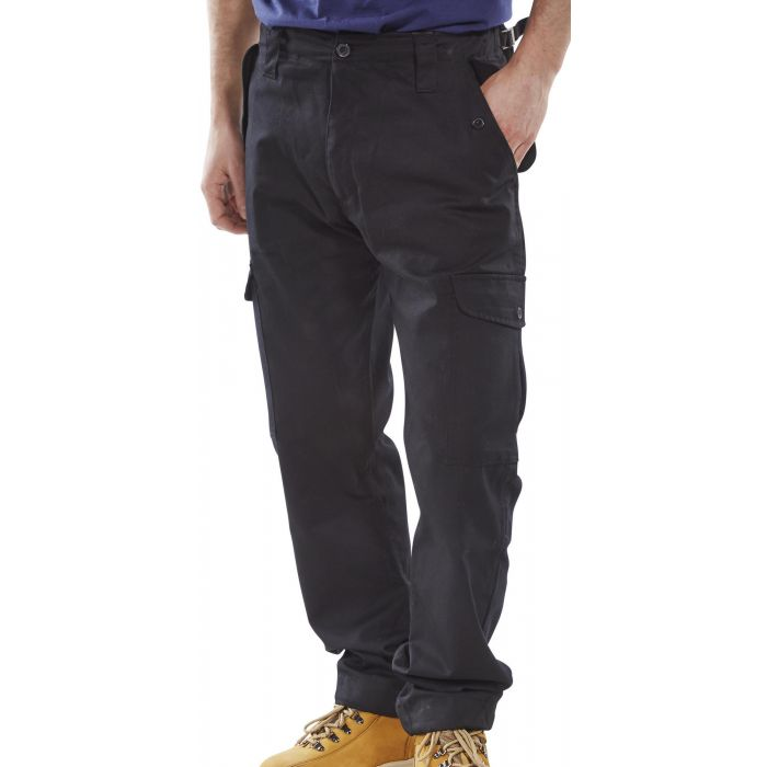 B-Click Workwear Combat Trousers