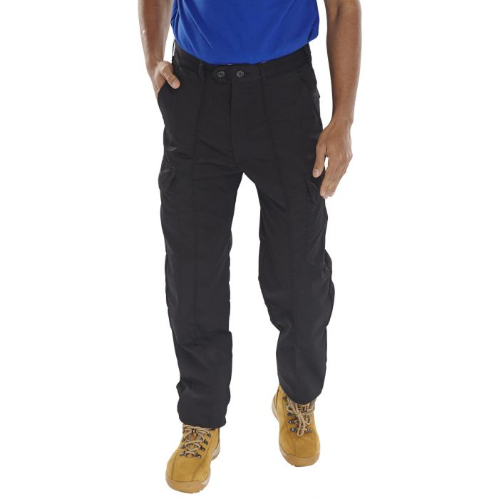 B-Super Click Workwear Drivers Trousers