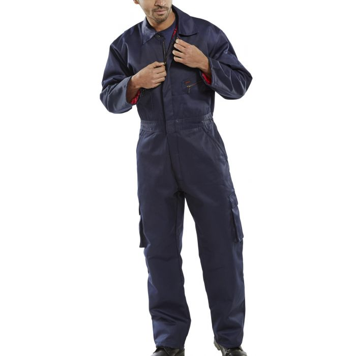 B-Click Workwear Quilted Boilersuit