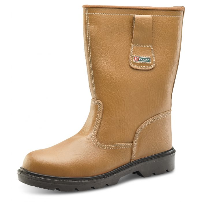 B-Click Footwear Unlined Rigger Safety Boots