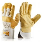 B-Flex Canadian Yellow Hide Rigger Gloves