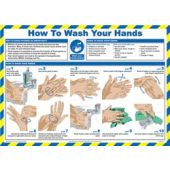 Click Medical Wash Your Hands Poster A 629