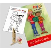 Click Medical Kids First Aid Pack with Pencils