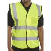 B-Seen Hi Vis ID Vest Saturn Yellow