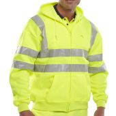 B-Seen Hi Vis Hooded Sweatshirt