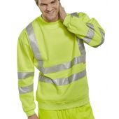 B-Seen Hi Vis Sweatshirt