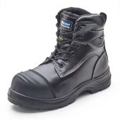 B-Click Traders Trencher Black Metatarsal Safety Boots