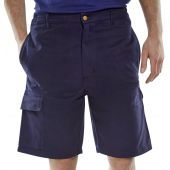 B-Click Workwear Cargo Pocket Shorts