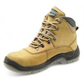 B-Click Traders Nubuck Safety Boots