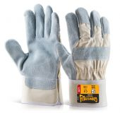 Glovezilla Cut Resistant Rigger Gloves White