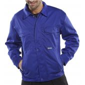 B-Super Click Workwear Drivers Jacket Royal 46in